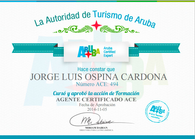 ace aruba living col